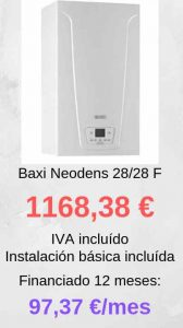baxi neodens 28/28 F