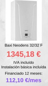 baxi neodens 32 32 F