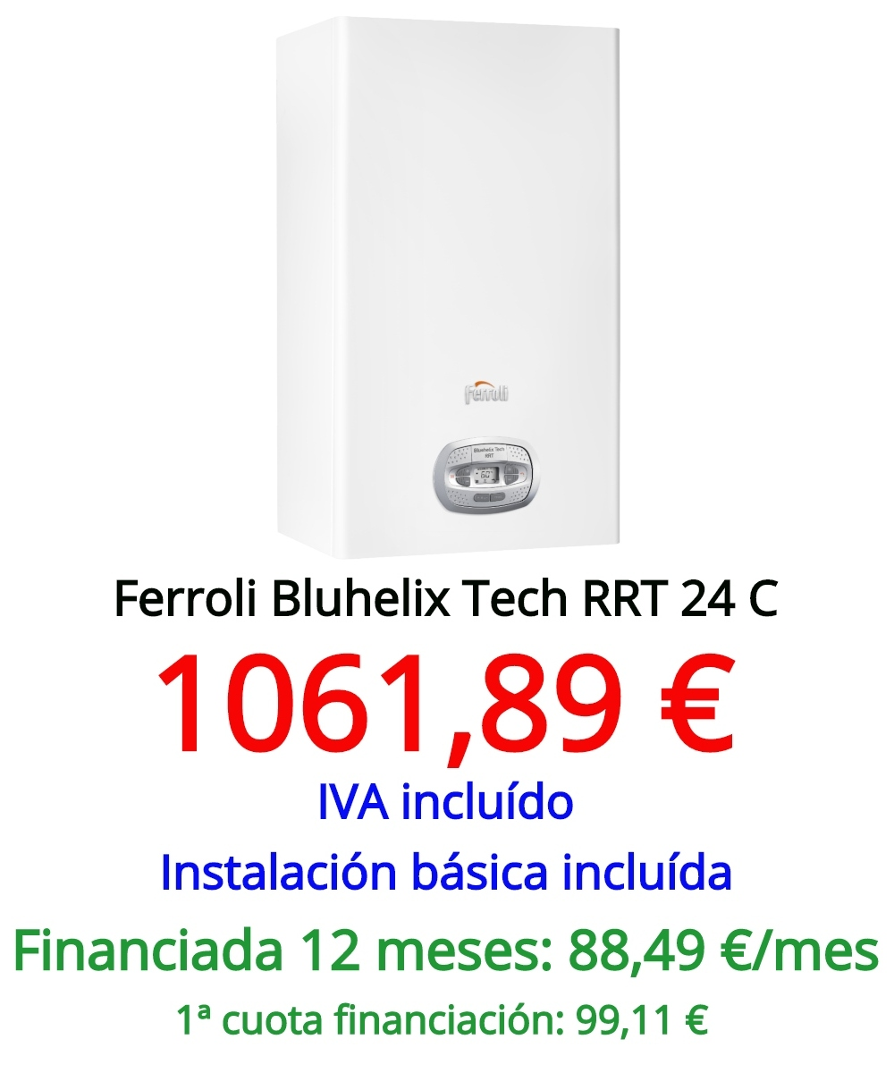 Ferroli Bluehelix Tech RRT 24