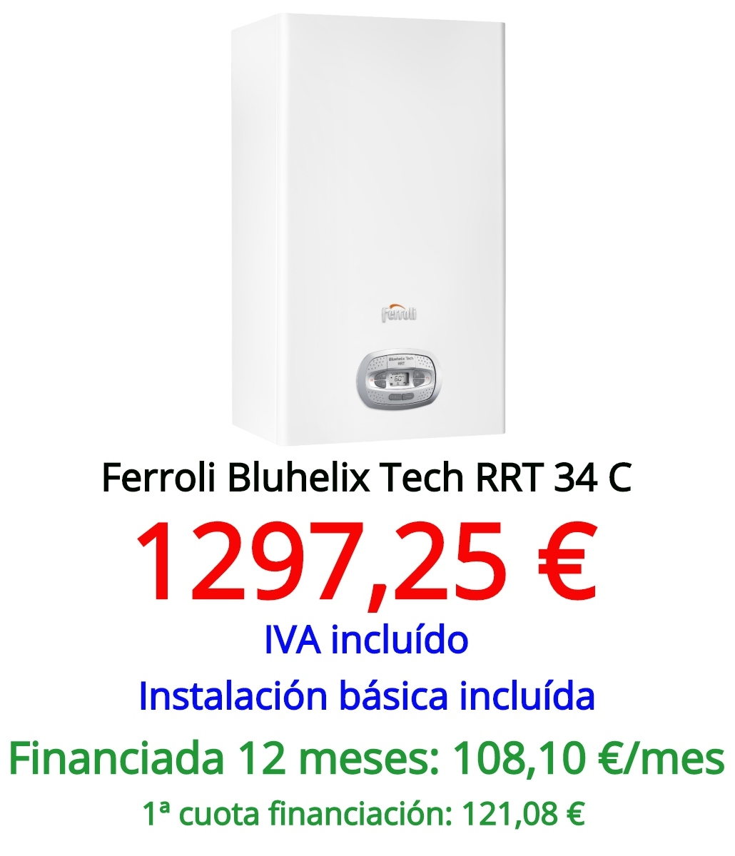 Ferroli Bluehelix Tech RRT 34
