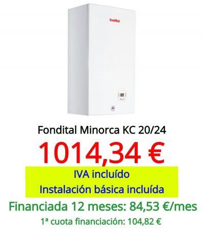 fondital minorca kc 20/24