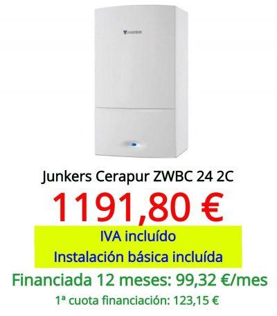Junkers Cerapur ZWBC 24 2C